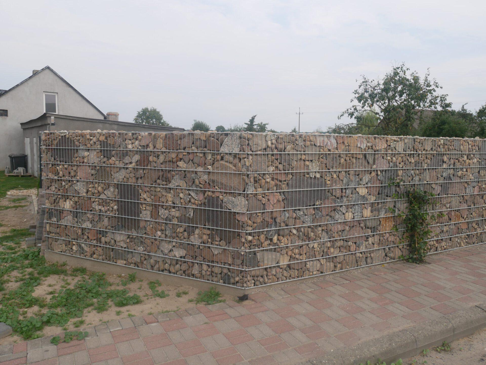 Gabiony ogrodzenie Brodnica