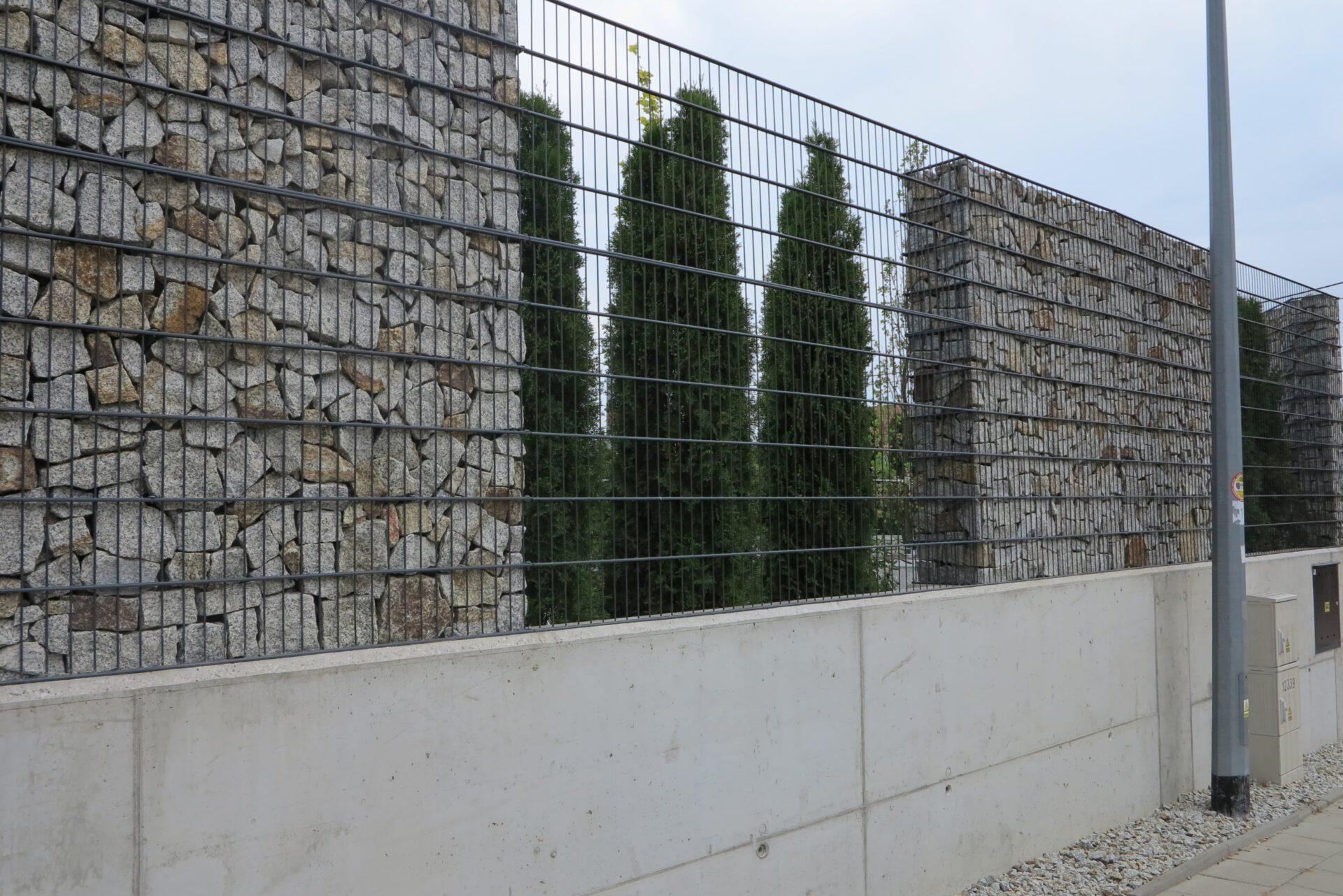 Gabiony ogrodzenie Wrocław