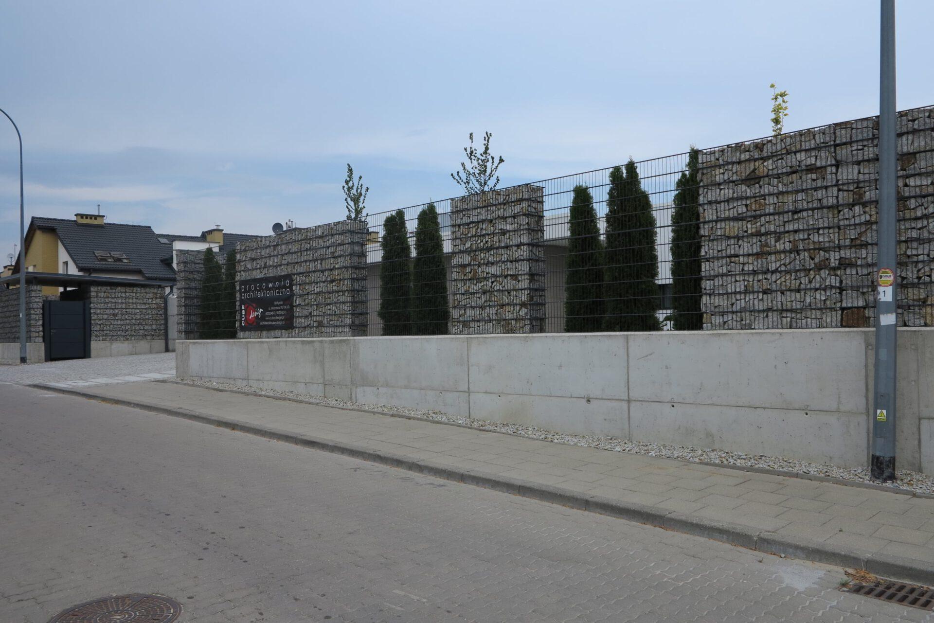 Gabiony Wrocław
