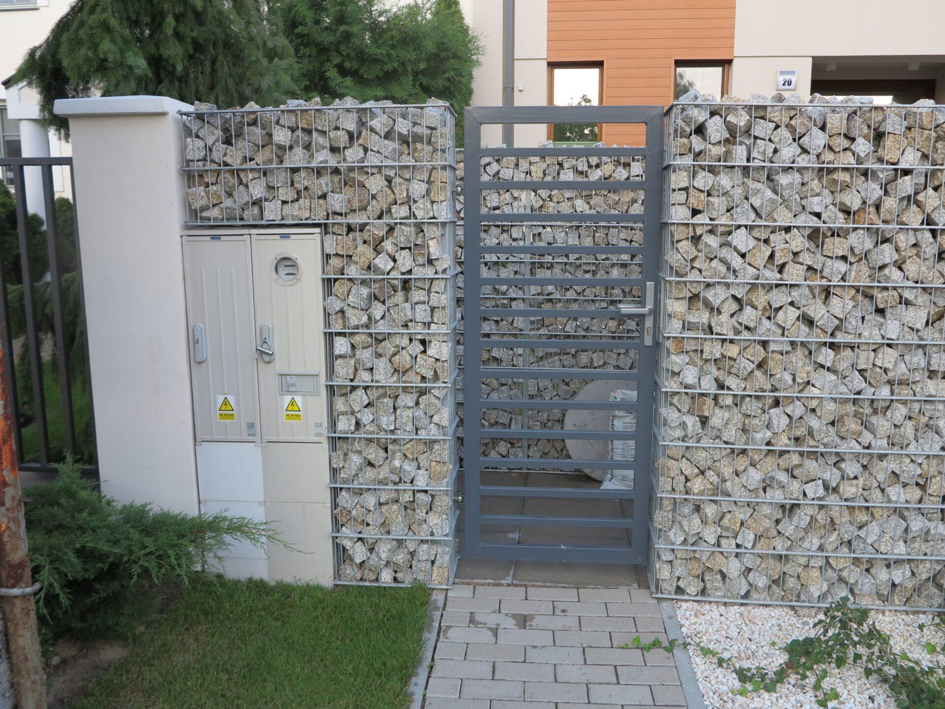 Ogrodzenia gabionowe