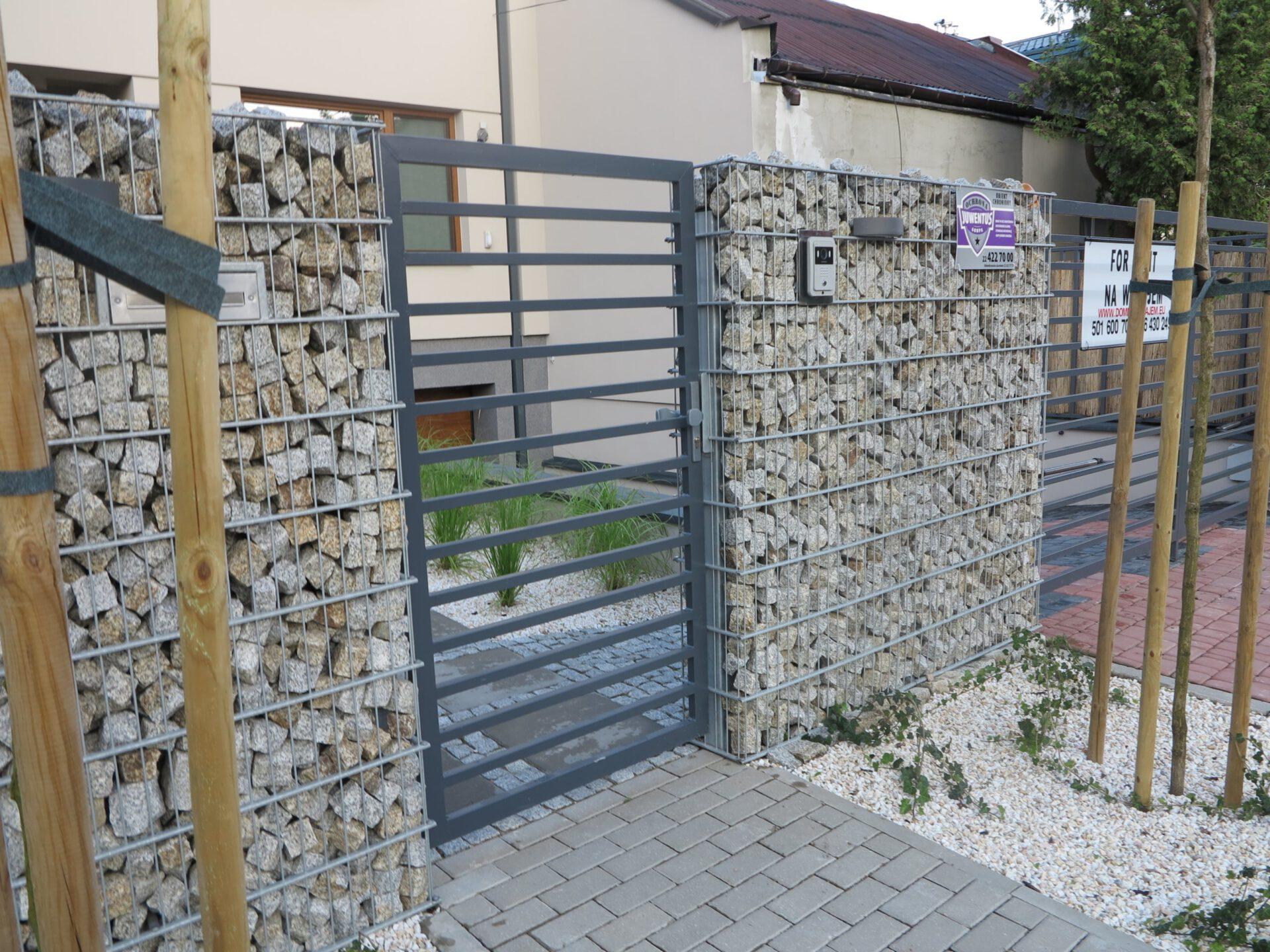 Ogrodzenia z gabionów Kraków