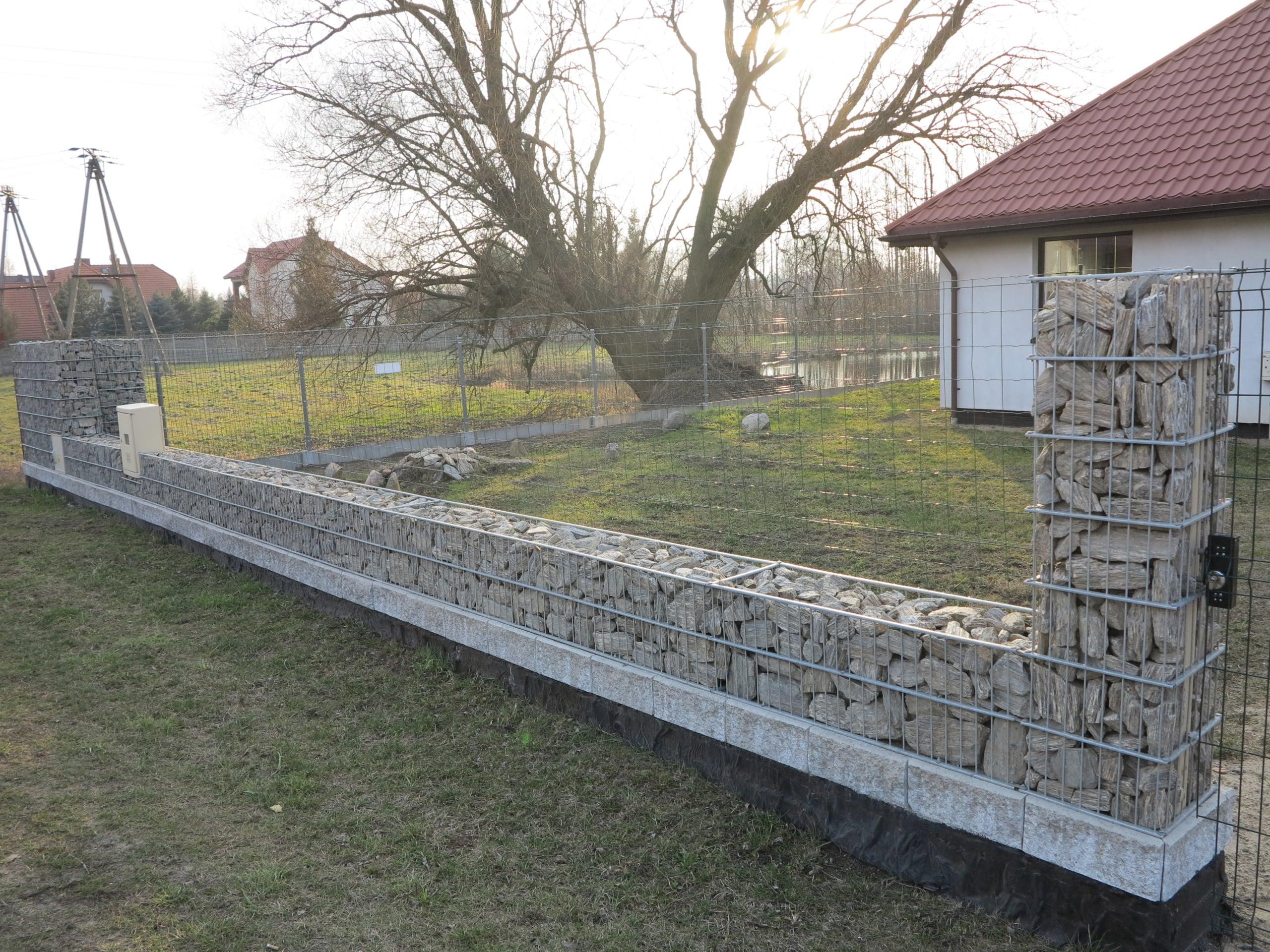 Ogrodzenie gabionowe Kraków
