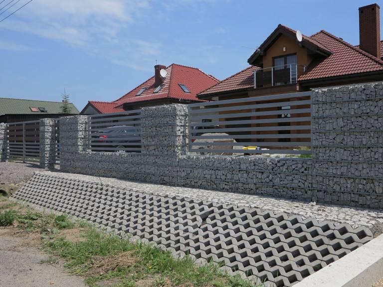 Ogrodzenie z gabionów Częstochowa